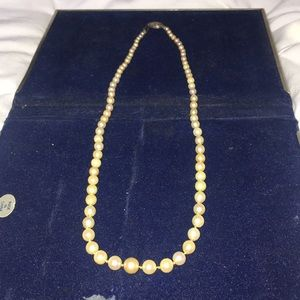 Real Akoya peal necklace